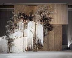 Wedding Backdrop Design, Wedding Stage Design, Wedding Hall Decorations, Floral Backdrop, Backdrop Decorations, Backdrops, September Wedding Colors, Wedding Chairs, Instagram