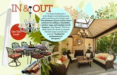 Outdoor Oasis: Get the Look - In-and-Out | Gallery | Glo