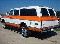 1970 Chevy 3 door suburban