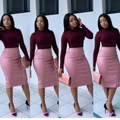 CLASSY ANKARA FORMAL STYLES, I have lots of classy outfit inspiration to show but before then permit me to talk about the word classy. Boho Outfits, Fashion Outfits, Workwear Fashion, Fashion Blogs, Womens Fashion, Petite Fashion, Fashion Trends, Latest Fashion, Classy Work Outfits