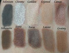 Silk Naturals Eyeshadows