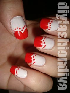 Sweet Hearts On The Edge Nail Design Tutorial