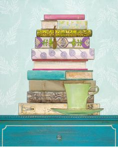Books and Tea ~ Creating a Literary Tea Party on http://teapartygirl.com/2011/05/books-and-tea-creating-a-literary-tea-party/