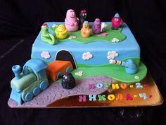 Barbapapa children birthday cake