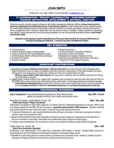 Distribution coordinator resume