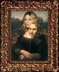 Tão enigmática quanto a Mona !