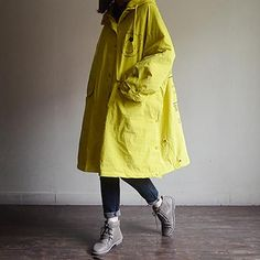 "·Item Coat·Cotton·Zipper Up·Cartoon Print,Hooded,PocketsOne Size(Fit for EU cm/ ""Hem: cm/ ""Sleeve Length: cm/ ""Length: cm/ ""The model Raincoats For Women, Plus Size Pants, Loose Sweater, Cotton Linen, Fashion Accessories, Hoodies, My Style, Wraps, Hoodie"