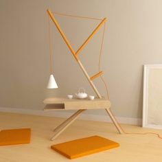 In An Attempt To Bring The Tranquility Of Nature Into City Living, Presek  Design Studio Have Created A RE:LIGHT, A Minimalistic Tree Inspired  Furniture ...