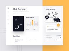 Weekly Design Inspiration #291 - Muzli - Design Inspiration Data Dashboard, Dashboard Design, Tablet Ui, Wireframe Design, Web Design, Principles Of Design, User Experience Design, Ui Design Inspiration, Ui Web