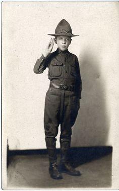 German Scout - July &lpar