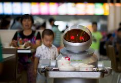 A restaurant in China lets robots do a lot of the work #Technology