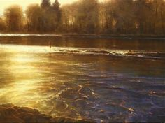 """""""Symphony of the River"""" by Brent Cotton.  Whoever got this one is one lucky buyer!"""