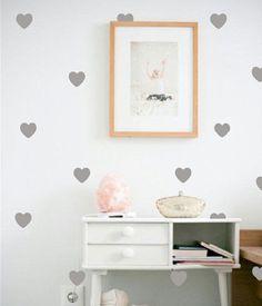#wallstickers #hearts #kidsroom #mybirchhome