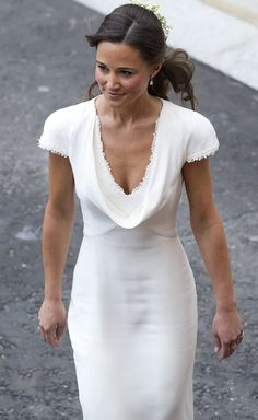 pippa bridesmaid dress | Pippa Middleton finally admits 'THAT' bridesmaid dress was a bit tight ...