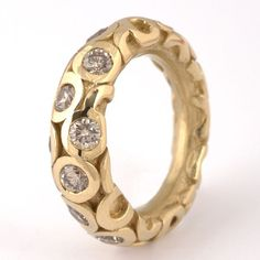 Squid ring - 18K gol beauty bling jewelry fashion