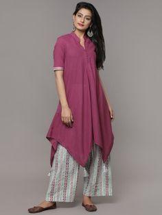 Plain Kurti Designs, Simple Kurti Designs, New Kurti Designs, Stylish Dress Designs, Kurta Designs Women, Kurti Designs Party Wear, Stylish Dresses, Frock Fashion, Indian Fashion Dresses