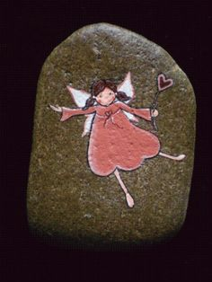 Painted #rock #stone