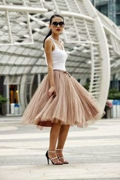 Miss Rich: Trending: Tulle skirts and how to wear them
