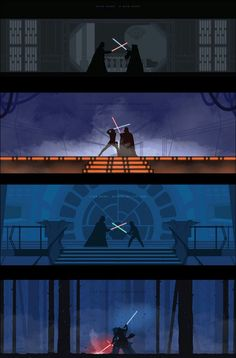 The Star Wars fights