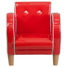 The Kids Retro Red Chair will become your child's favorite perch!