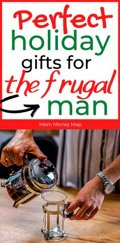 Want to make a frugal man happy but don't know how? Here's a list of the most amazing Christmas holiday gifts for your frugal husband, brother, son, father or any frugal man that loves to save your and his money! #savingmoneytips #christmasgifts Frugal Christmas, Christmas Holidays, Holiday Gifts, Christmas Gifts, Frugal Living Tips, Ways To Save Money, Brother, Best Gifts, Husband