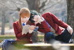 Shizuku and Haru - Tonari no Kaibutsu-kun Awesome cosplay