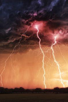 Lightning strikes | thunderstorm | | nature | | amazingnature | #nature #amazingnature https://biopop.com/
