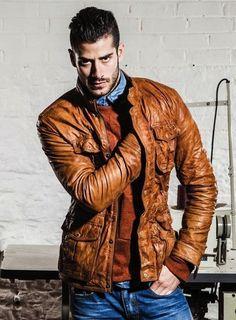 Top Leather Biker jacket #thestylecity
