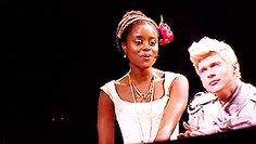 Denee Benton and Lucas Steele in Natasha, Pierre, and the Great Comet of 1812