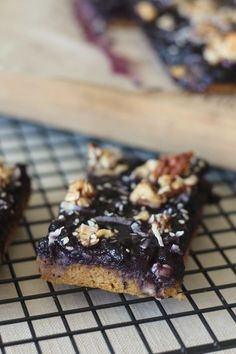 #paleo PaleOMG Blueberry Pumpkin Muffin Breakfast Bars