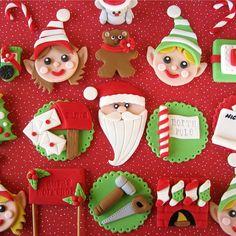 Love! @Wilton Cake Decorating Cake Decorating #wiltonchristmas by lynleespetitecakes #wiltoncookieelf