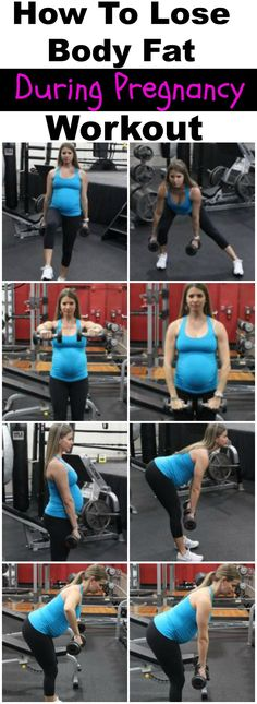 how to lose body fat during pregnancy workout