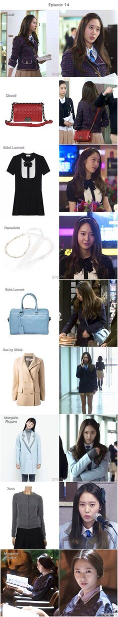 Fashion in Dramas #*Krystal Jung