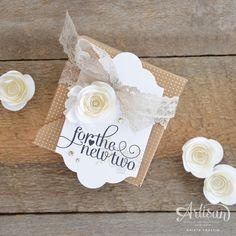 Stampin' Dolce: Wedding gift wrap- Fancy Friday Blog Hop
