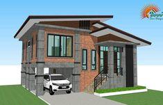 Modern Loft-Style Multi-Storey House Plan - Ulric Home Modern Zen House, Modern Bungalow House, Modern Loft, Modern Homes, Model House Plan, My House Plans, Loft Style Homes, 2 Storey House, Home Design Plans
