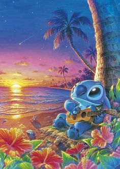 Stitch! Favourite Disney character :)