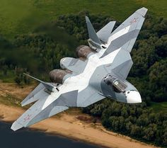 Nice picture of the Russian Sukhoi fighter. Us Military Aircraft, Military Jets, Military Vehicles, Stealth Aircraft, Fighter Aircraft, Air Fighter, Fighter Jets, Airplane Fighter, F22 Raptor