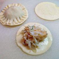 Crab-filled Pici Pasta Dough Ravioli with Tarragon Al Limone Sauce