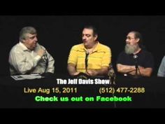 """Jeff Davis Show"" Exclusive TV - 4 minutes Jeff Davis interviews former Austin Texas City council member George Humphrey about losing freedom - from 1997. Followed by Jeff Davis speech to Travis County Texas commissioners court concerning criminal WilCo TX  law enforcement - from 2000. Both clips aired live Channel Austin TV studios Summer 2006 -- Jeff Davis Show"