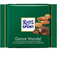 RITTER SPORT Ganze Mandel Schokolade