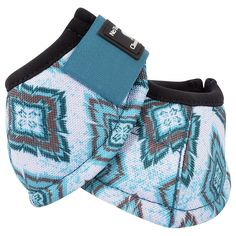 Classic Equine Teal Diamond Dyno No Turn Bell Boots - Size Large - NEW! in Sporting Goods, Outdoor Sports, Equestrian | eBay