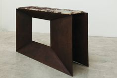 'XY' console table by Philip Michael Wolfson