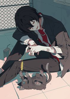 New drawing anime boy animation 59 Ideas Anime Boys, Manga Anime, Art Anime, Cute Anime Guys, Hot Anime Boy, Manga Boy, Anime Boy Drawing, Anime Cat Boy, Dark Anime Guys