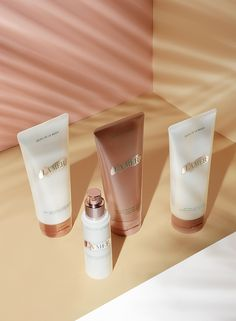 Refreshed. Rehydrated. Radiant. All the essentials for your hot day regime at LaMer.com.