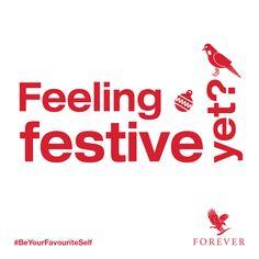 Are you feeling festive yet? #BeYourFavouriteSelf