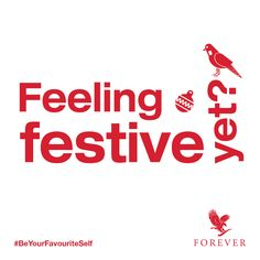 Are you feeling festive yet? #BeYourFavouriteSelf #ForeverXmas