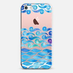 Whimsical Water iPhone SE case by Sara Eshak | @casetify