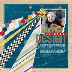 Create Simple Scrapbook Layouts Without Embellishments - Simple Scrapper