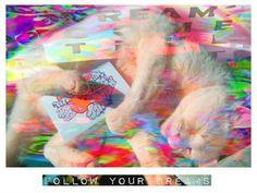 #Madame Mazuni, Follow Your Dreams Mister Tinkles - Mazuni Stylee  on ArtStack #madame-mazuni-1 #art