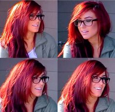 That hair color tho!